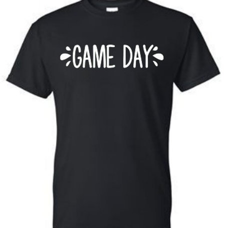 Black 50/50 Black Game Day Shirt