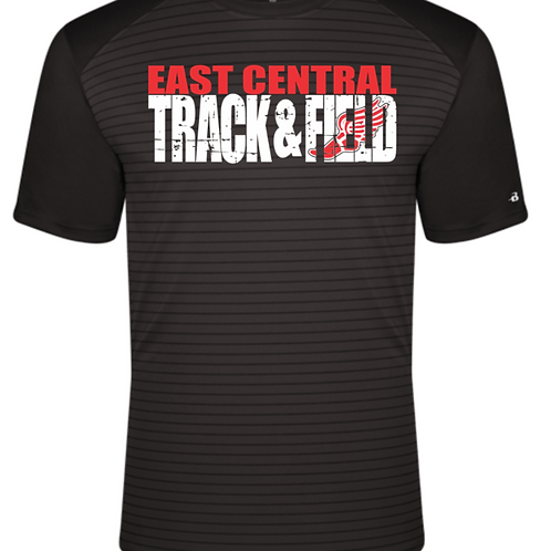EC Track and Field VINTAGE LINE SPORT TRI-BLEND TEE