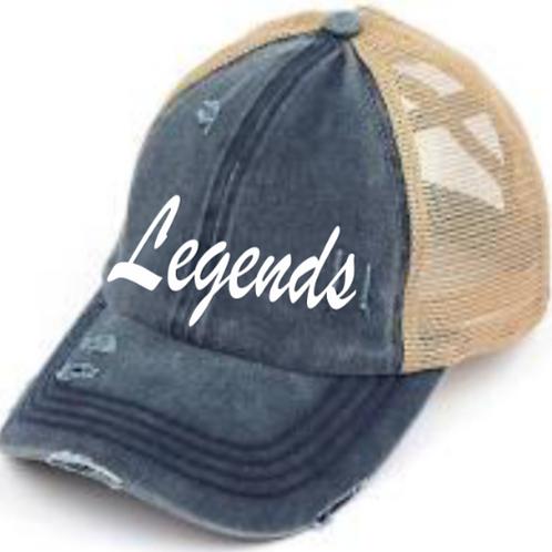 Legends CC Beanie Criss Cross Hat
