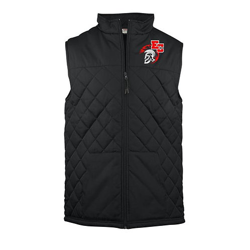 Embroidered Quilted Ladies Vest