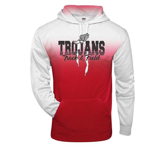 2021 SDMS Track & Field Ombre Hooded Sweatshirt