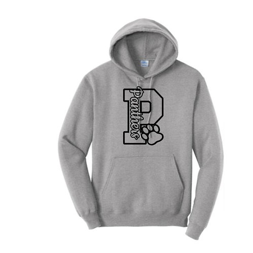 BES Panther P 50/50 Hooded Sweatshirt