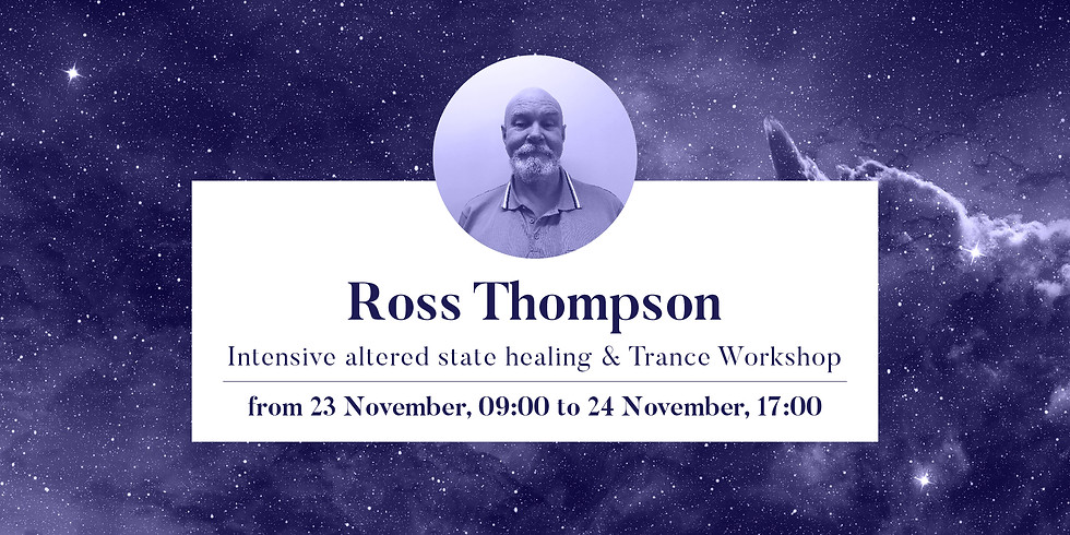 Intensive Altered State Healing Trance Workshop