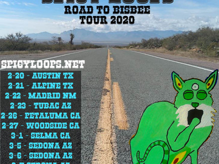 Road to Bisbee Tour - Feb. 21-Mar. 9th