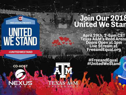 United We Stand -April 29th @ Reed Arena