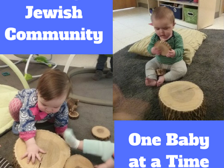 Building a Jewish Community one Baby at a Time