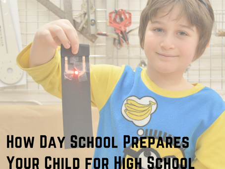 How Day School Prepares Your Child for High School and Beyond