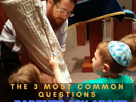 The 3 Common Most Common Questions Parents ask about Jewish Education