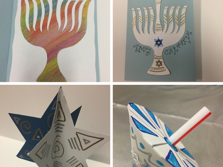 Three amazing craft projects for Chanukah
