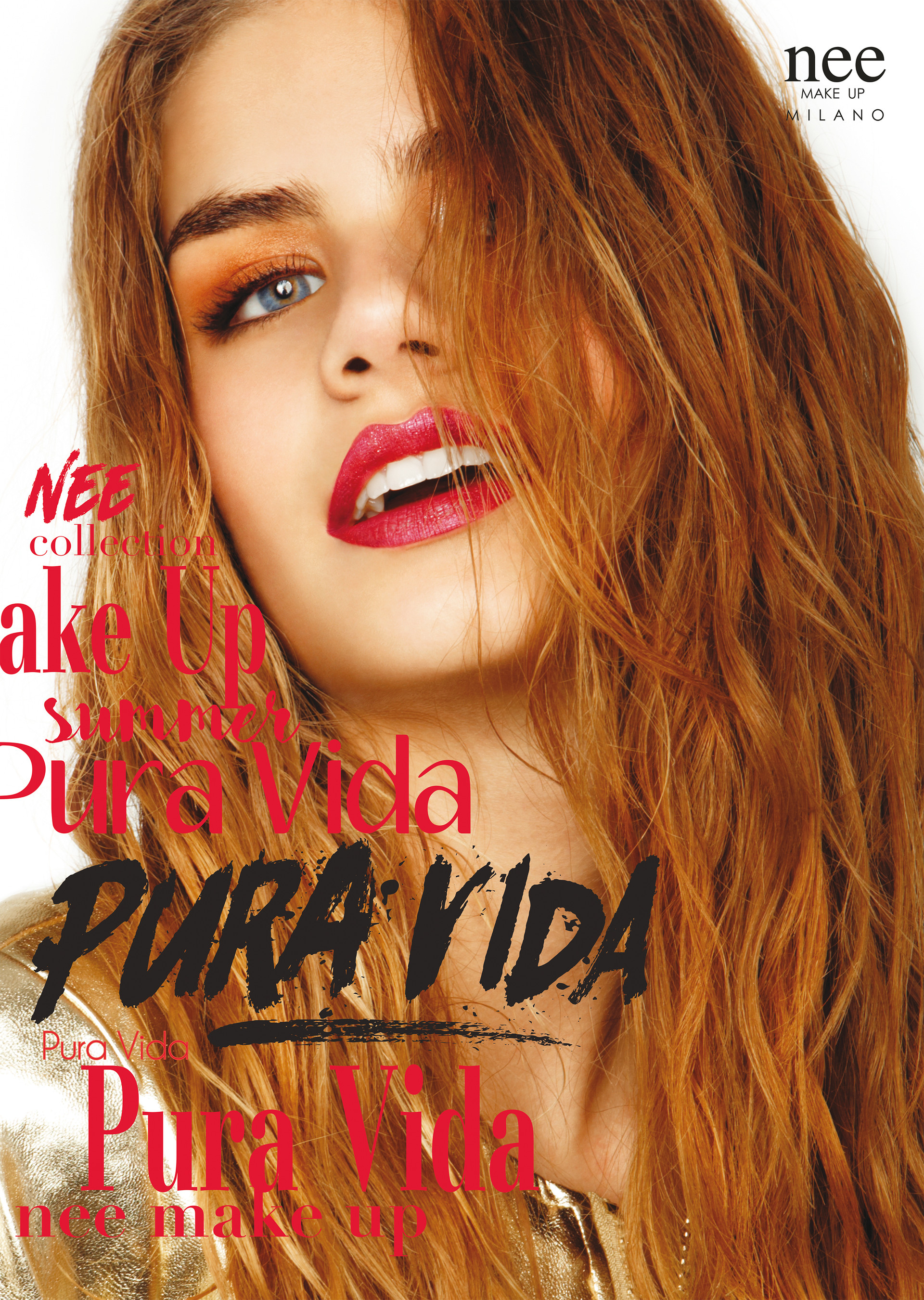 Pura Vida Nee make up campaign