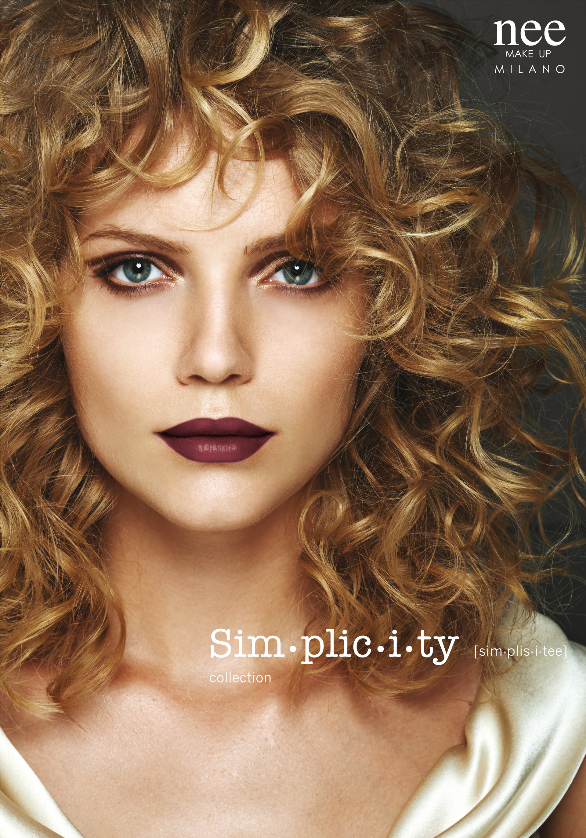Simplicity campaign Nee make up Milano AW/16