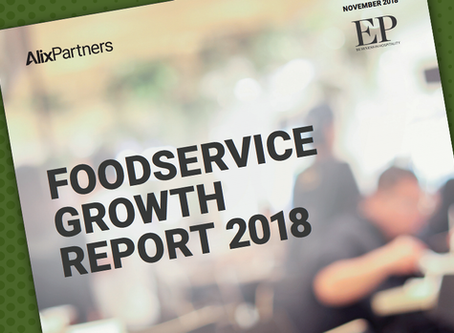 Olive appears in the Foodservice Growth Report for the fifth year running