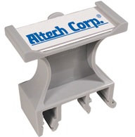 Porta rotulos compatible con riel DIN