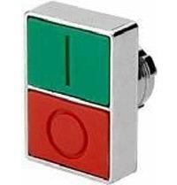 2ATF3-F4-IO  Operador doble tecla  verde-rojo