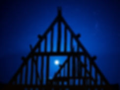 nuit bleue, moon, full moon, pleinelune, romantique, amour