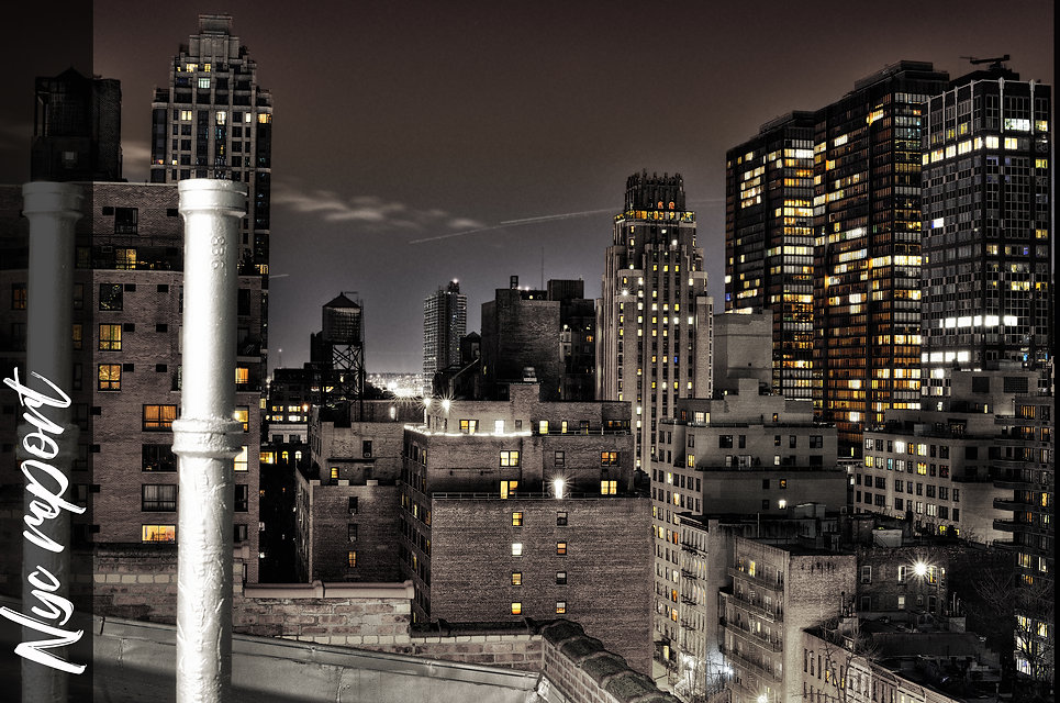 nyc,night,newyork,topofflor,terrasse,toits
