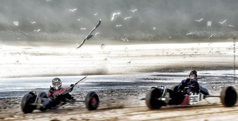 Sport Event, plage, buggy kite, char à cerf-volant, incentive