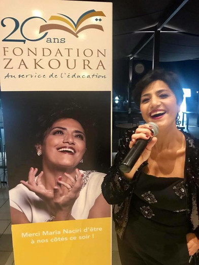 POSTER CAMPAIGN IN CASABLANCA FOR THE FOUNDATION ZAKOURA