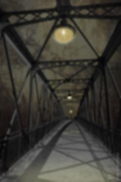 paris, orage, storm, street, pont, bridge, night