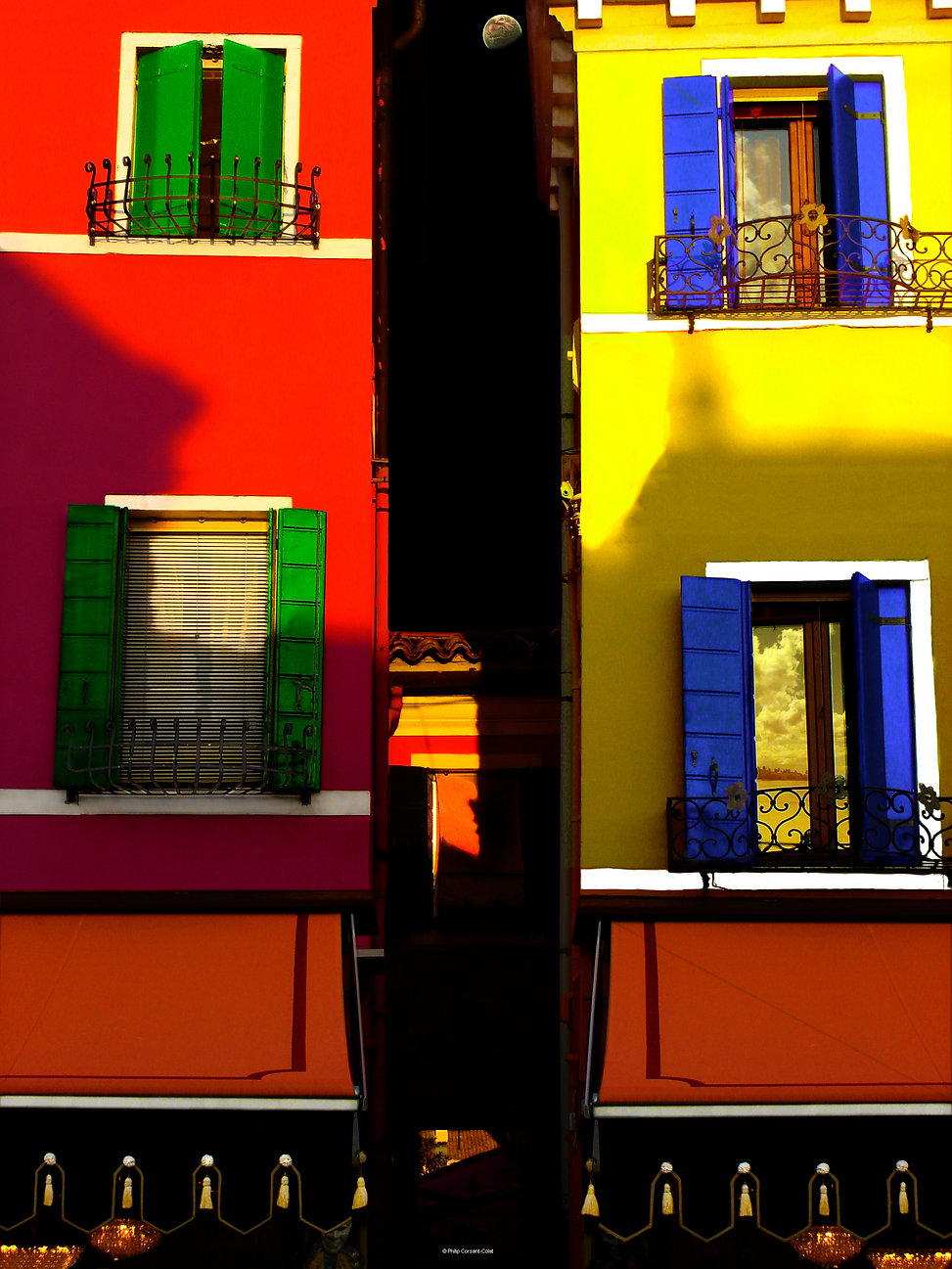Architecture, design, italie, venise, united colors