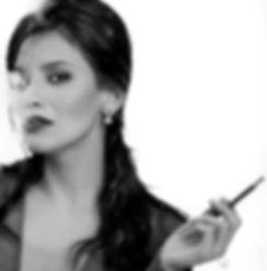 bnw,portrait,iran,actress,picture,smoke,eyes,lighting,smart,beauty,fashion,lifestyle,frenchstyle