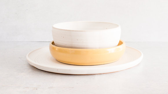 Moonstone | Canary - Simple Place Setting (3 Piece)