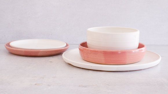 Fib's Pink | Moonstone - King Place Setting (5 Piece)