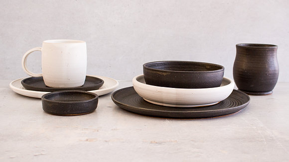 Midnight | Moonstone - Deluxe Place Setting (8 Piece)