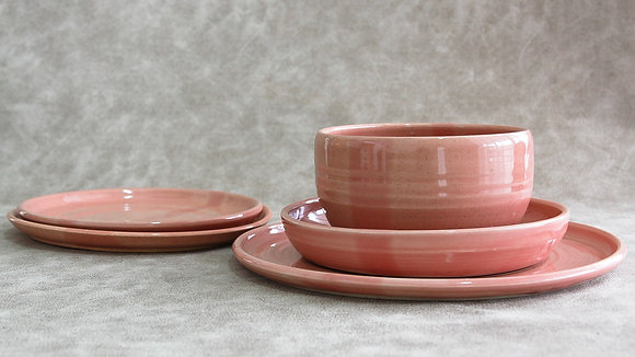 Fib's Pink - King Place Setting (5 Piece) (Wholesale)