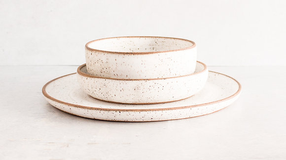 Dalmatian [Exposed] - Simple Place Setting (3 Piece)