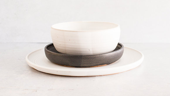 Moonstone | Midnight - Simple Place Setting (3 Piece)