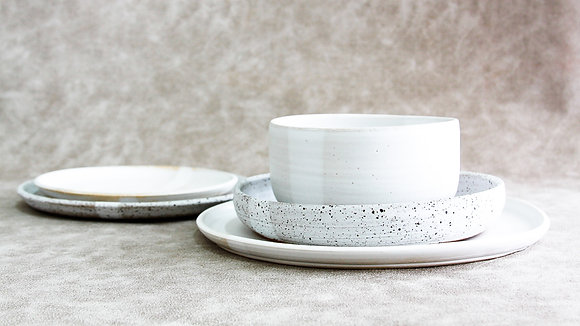 Dalmatian | Moonstone - King Place Setting (5 Piece) (Wholesale)