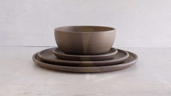 Charcoal - Full Place Setting (4 Piece)