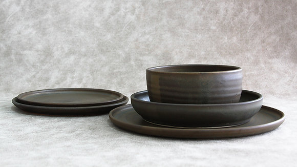 Charcoal - King Place Setting (5 Piece) (Wholesale)
