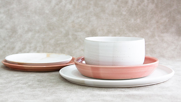 Fib's Pink | Moonstone - King Place Setting (5 Piece) (Wholesale)