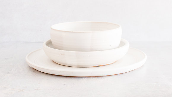 Moonstone  - Simple Place Setting (3 Piece)