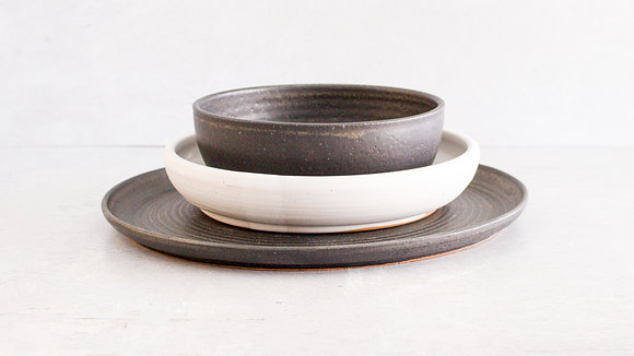 Midnight | Moonstone - Simple Place Setting (3 Piece)