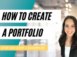How to Build an Awesome Portfolio To Stand Out In Your Job Search