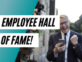 How to Get Into the Employee Hall of Fame