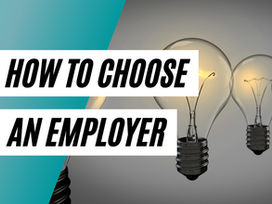 This is How You Choose a Company to Work For