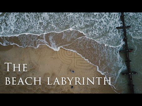The Beach Labyrinth for the Pandemic