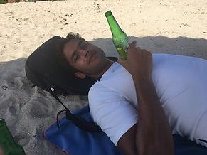 LDS beer on beach.jpg