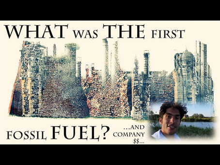 The First Fossil Fuel?