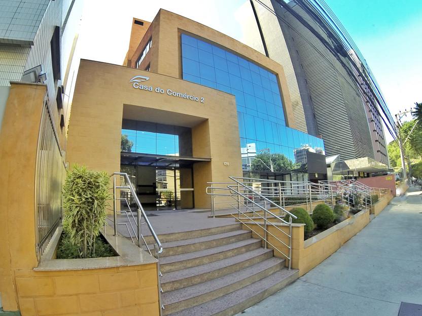 Edifício Casa do Comércio 2. Clínica Medical Gastro.
