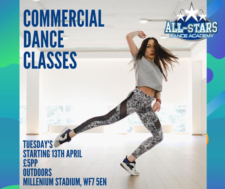16+ Commercial Dance Class