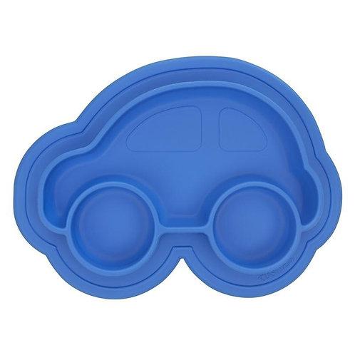 Siliplate assiette en silicone sans dégâts - Kushies