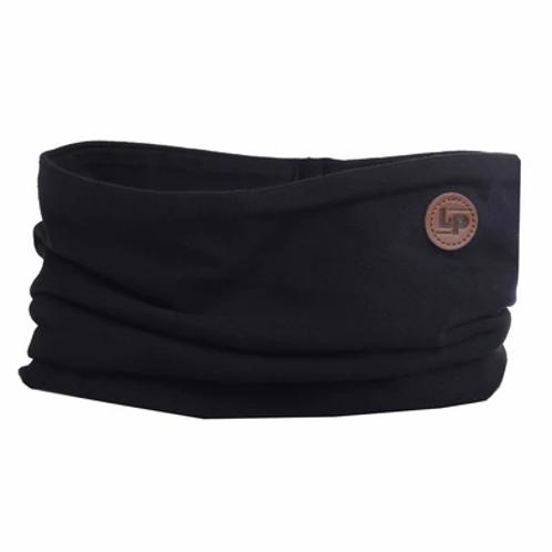Foulard coton noir -  L&P