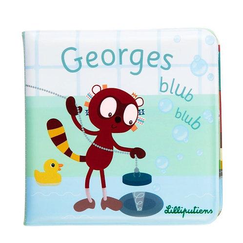 Livre de bain Georges Blub blub