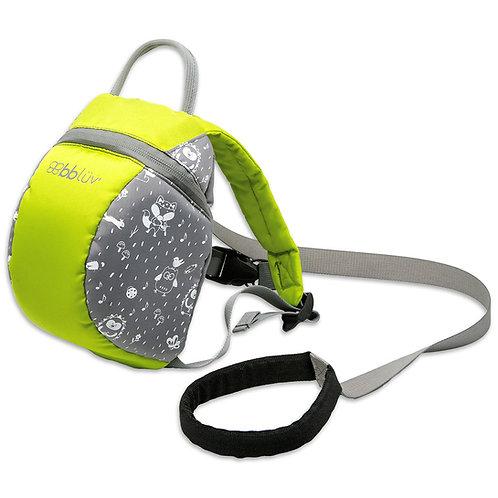 Päk sac à dos avec sangles de sécurité amovible Lime - BBLÜV