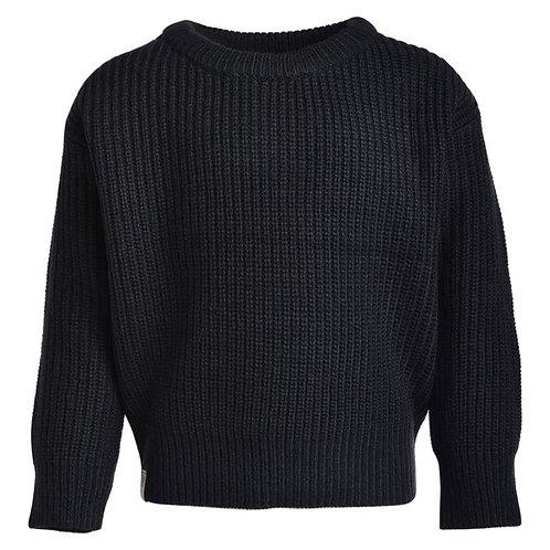 Chandail en tricot Mallow(Noir) - L&P